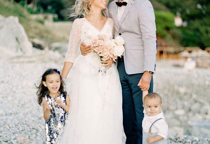 Агентство POLOTNO - Свадьба на берегу моря в Черногории