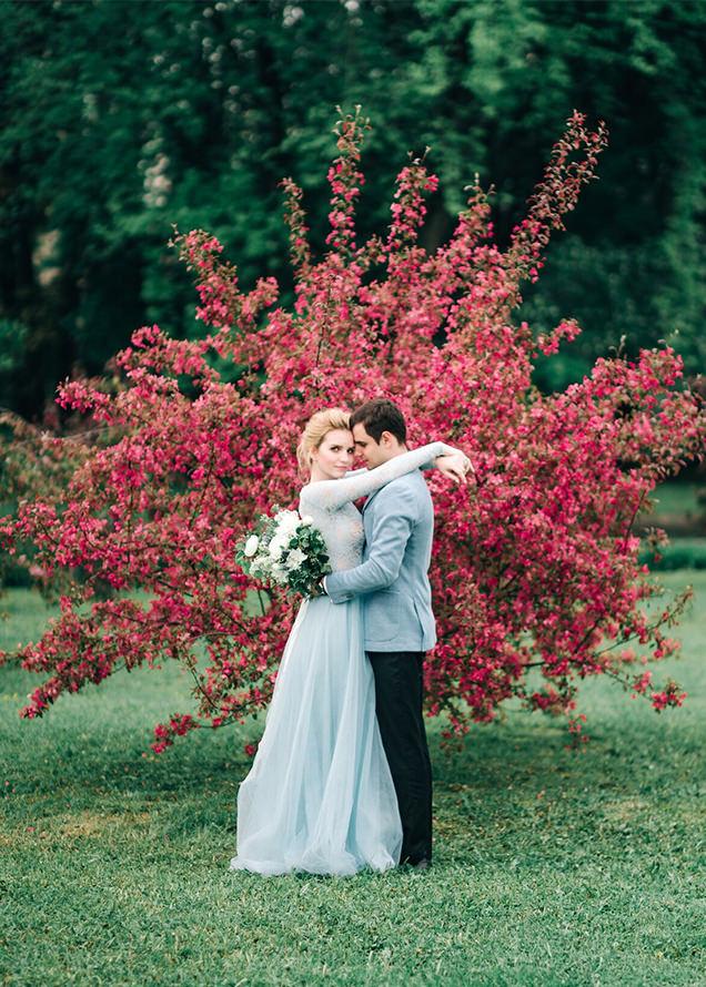классическая свадьба в усадьбе