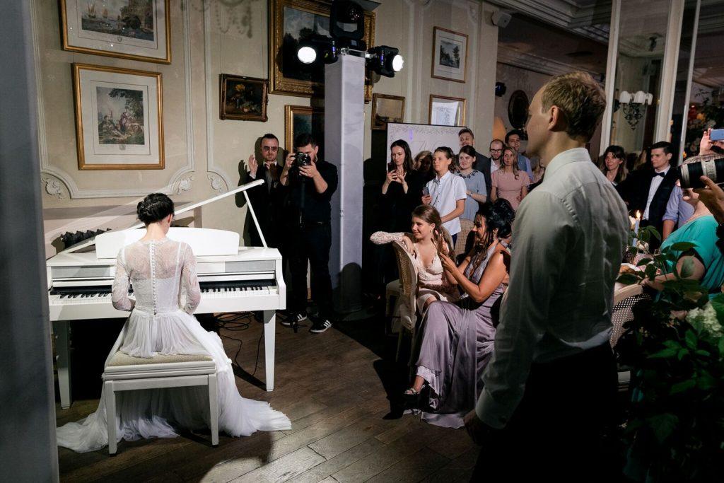 Агентство POLOTNO - роскошная свадьба в загородном ресторане