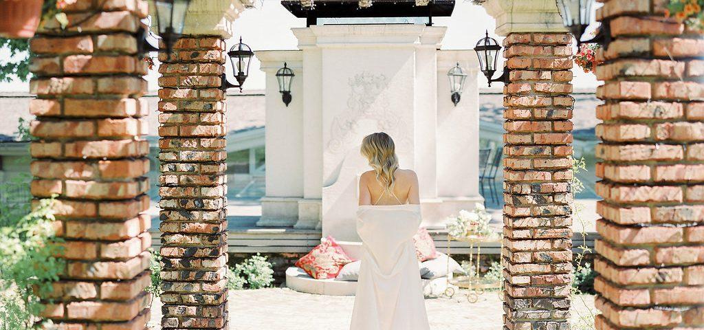 Агентство POLOTNO - организация классической свадьбы
