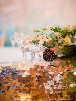 Декор. Свадьба зимой 2019. Свадебное агентство POLOTNO