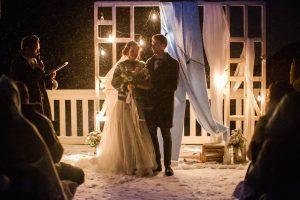 Жених и невеста. Свадьба зимой 2019. Свадебное агентство в москве