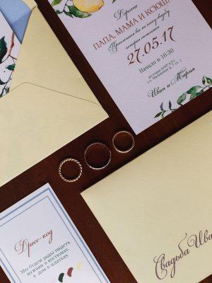 пригласительные годовщина свадьбы