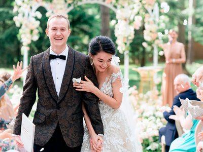Организация выездной свадьбы в москве