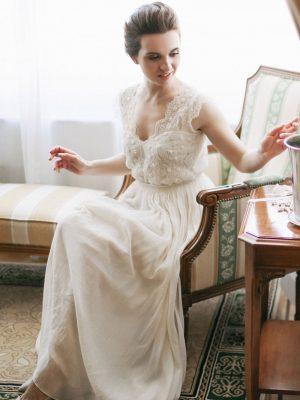 Образ невесты на камерной свадьбе