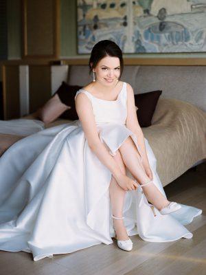 Свадьба в Москве. Невеста