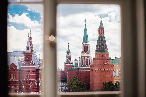 Свадьба в центре Москве