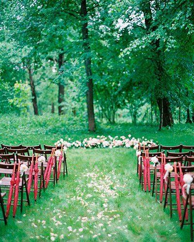 На свадьбе пошел дождь