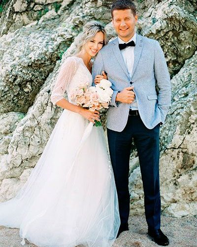 Дорогая свадьба на природе