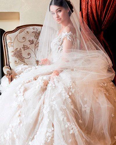 Невеста на дорогой свадьбе