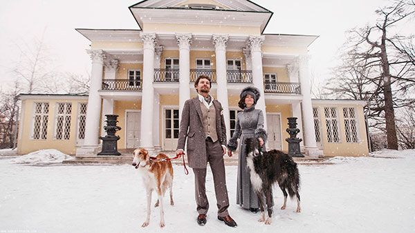 Необычная свадьба зимой