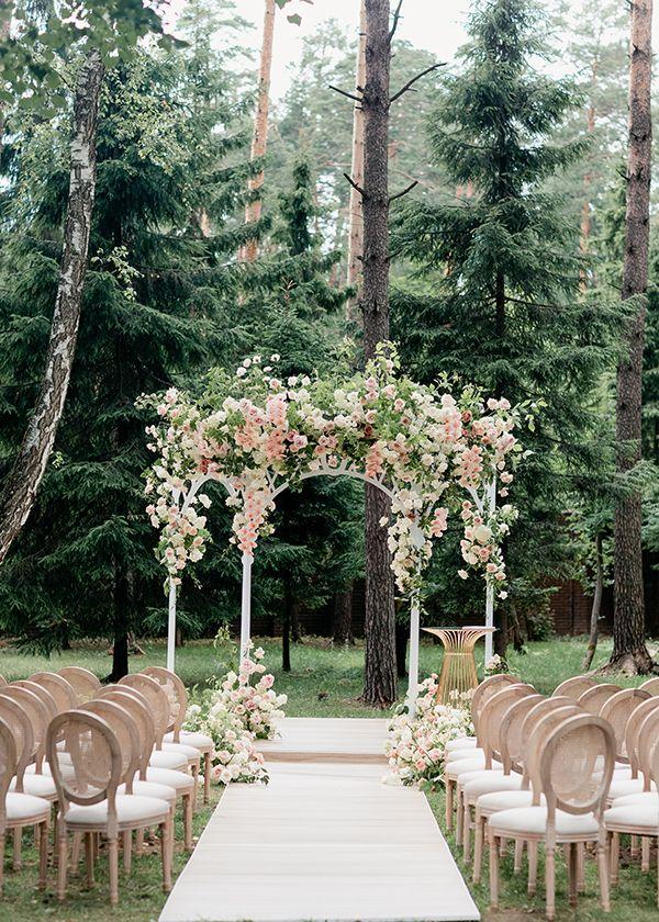 Оформление классической свадьбы