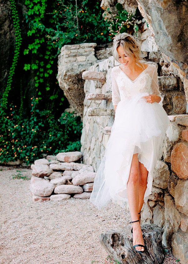 Невеста на зарубежной свадьбе