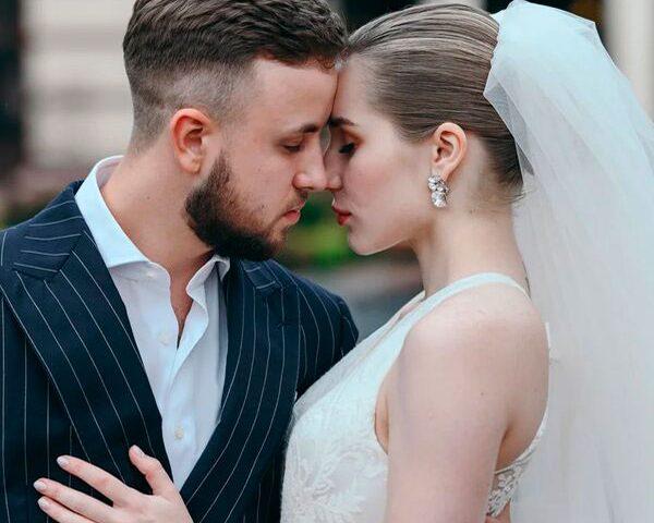 Классическая свадьба портфолио. Максим и Полина