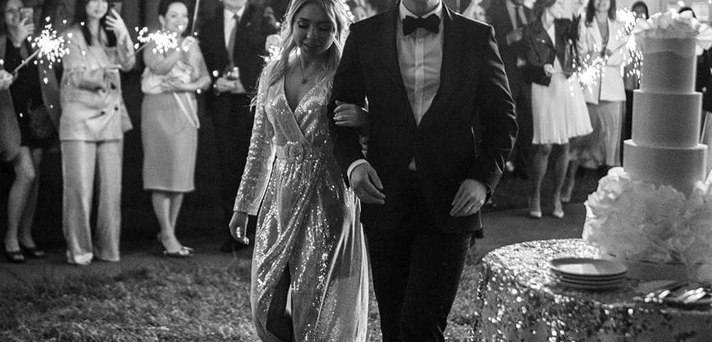 Свадьба в загородной вилле Москва