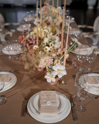 Интерьер камерной свадьбы